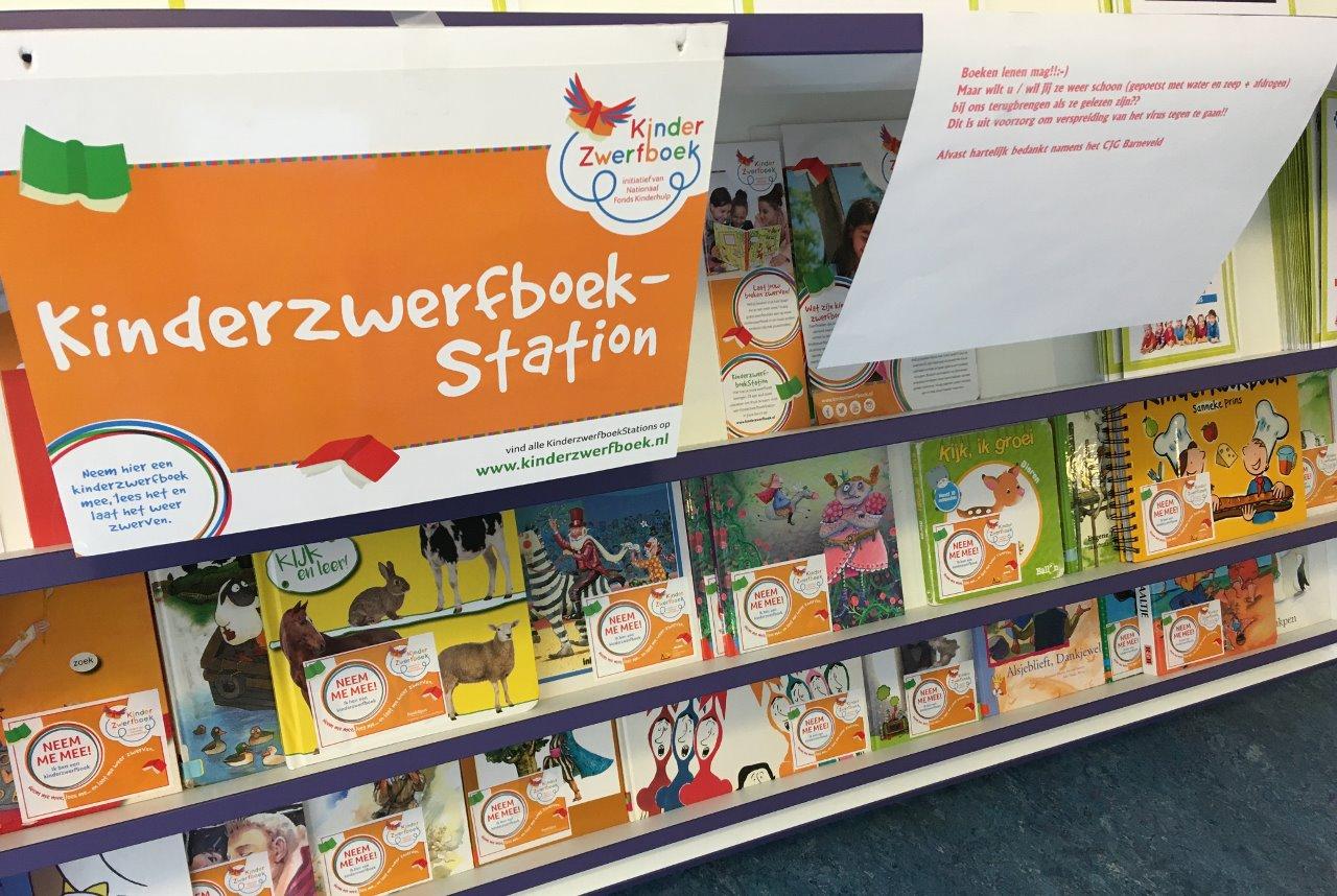 Kinderzwerfboek-station CJG Barneveld